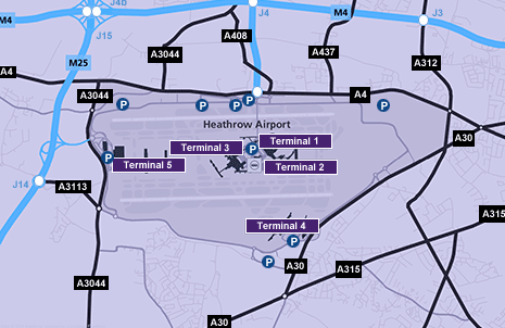 Heathrow airport click on the terminal name to view an interactive map heathrow terminal 2 sciox Choice Image